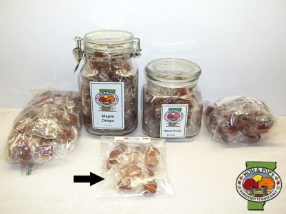 Maple Drops (Hard Candy), Bag, 1 Dozen