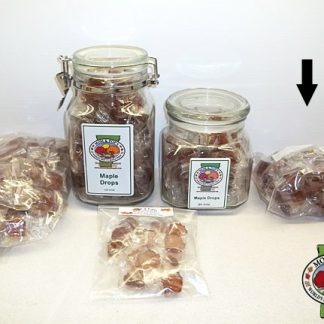 Maple Drops (Hard Candy), Bag, 50 pcs