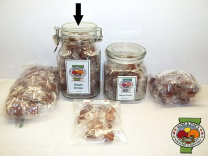 Maple Drops (Hard Candy), JAR, 100 pcs