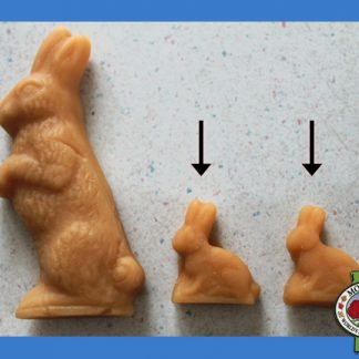 2 Easter Bunnies Maple Candy (Small)